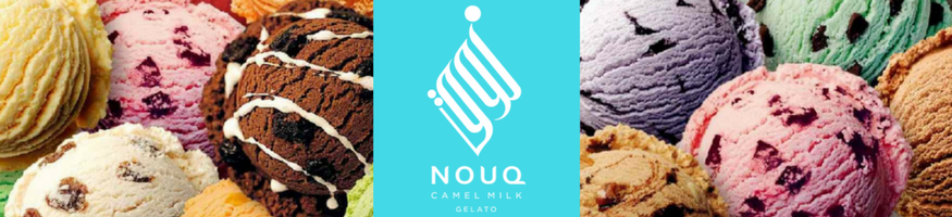 NOUQ Camel Milk Ice Cream