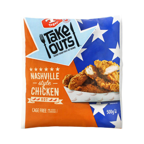 Tegel Chicken Tenders Nashville-Style