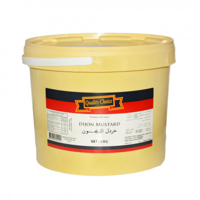 Quality Choice Dijon Mustard (5kg)