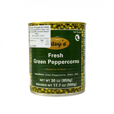 Davy's Green Peppercorns (850g)