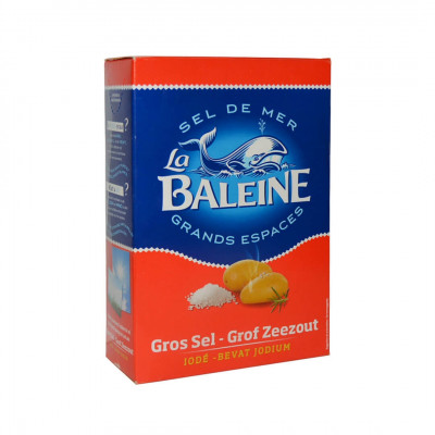 La Baleine Iodized Sea Salt