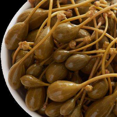 Belazu Caperberries in Vinegar