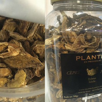 Dried CepesPorcini Mushrooms - Plantin , France