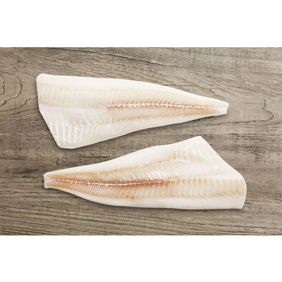 Pacific Cod Fillet Skinless Pin-Bone-Out IQF 12/16