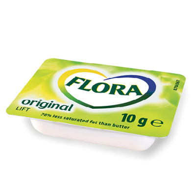Flora Margarine Portions 100x10g