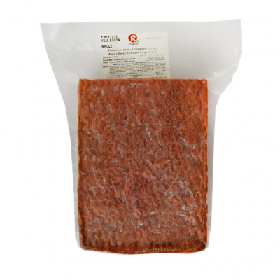 Rayants Veal Bacon Whole Frozen