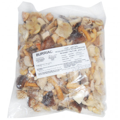 Forest Mix Mushroom - Frozen [Burriac - France] - 01.00kg