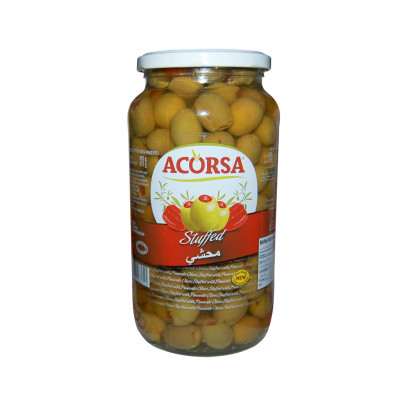 Acorsa Green Olives stuffed with Pimento