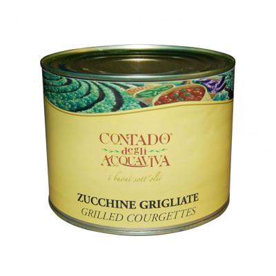 Agra Contado Grilled Zucchini in Tin