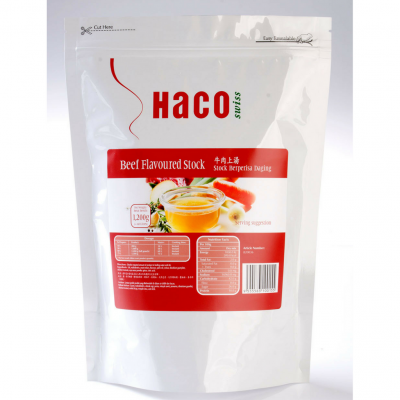 Haco Beef Flavoured Stock 1.2KG