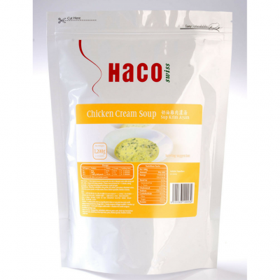 Haco Chicken Cream Soup 1.2KG