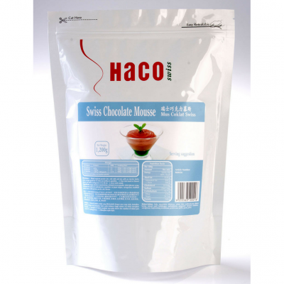 Haco Swiss Chocolate Mousse 1.2KG