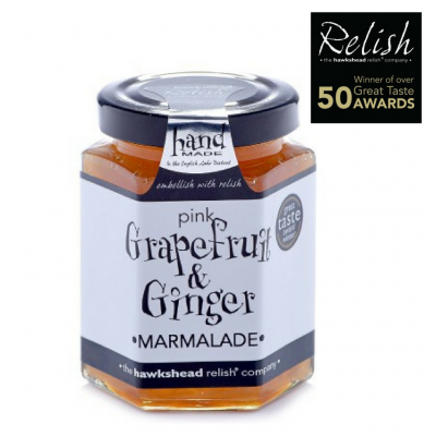 Hawkshead Relish's Pink Grape Fruit and Ginger Marmalade