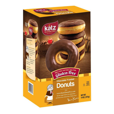 Katz Gluten-Free Chocolate Frosted Donuts (397g)