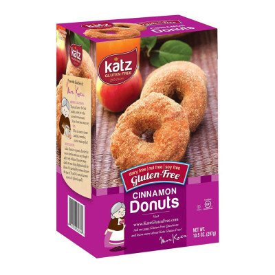 Katz Gluten-Free Cinnamon Donuts (297g)
