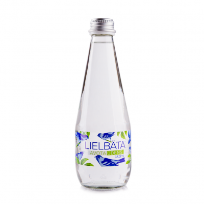 Lielbata Spring Sparkling Water in Glass Bottle 700M