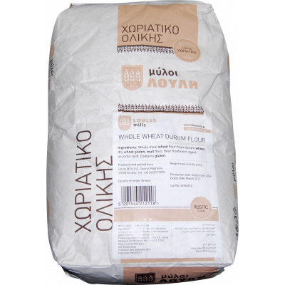 Loulis Mills Horiatiko Wheat Flour from Durum Wheat