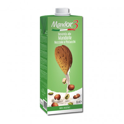 Mand'Or 3 Hazelnut Pistacho Almond Drink