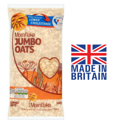 Mornflakes Jumbo Oats - 500G , UK