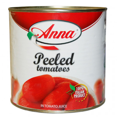 Tomato Whole - Peeled in Tomato Juice [Anna - Italy]