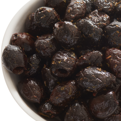 Pitted Black Olives in Herbes de Provençe