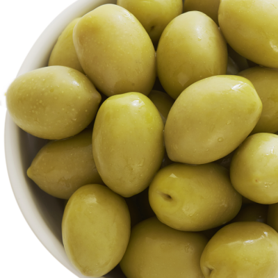 Belazu's Queen Green Chalkidiki Olives