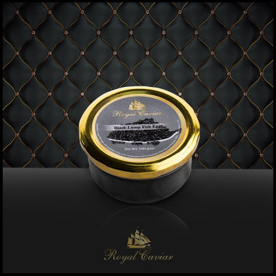 Royal Caviar Black Lump Fish Roe