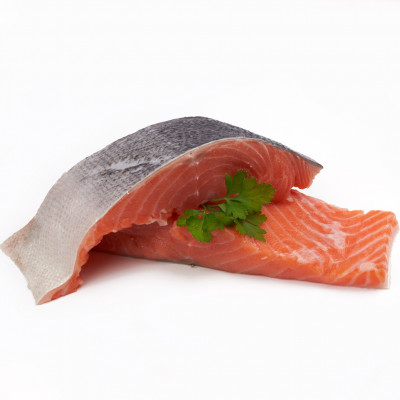 Salmon Portion Deep Skin