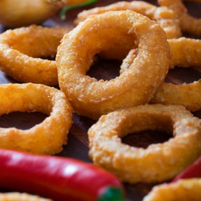 Salud Hot & Spicy Onion Rings 1KG Netherlands