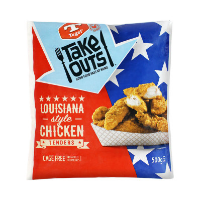 Tegel Chicken Tenders Louisiana-Style (500g)