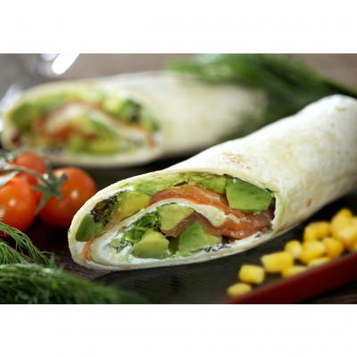 Flour Tortilla - 25cm - Frozen [Salud - Netherlands] - 01.24kg