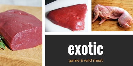 game wild exotic meat